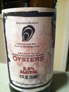 See, it's brewed with oysters.