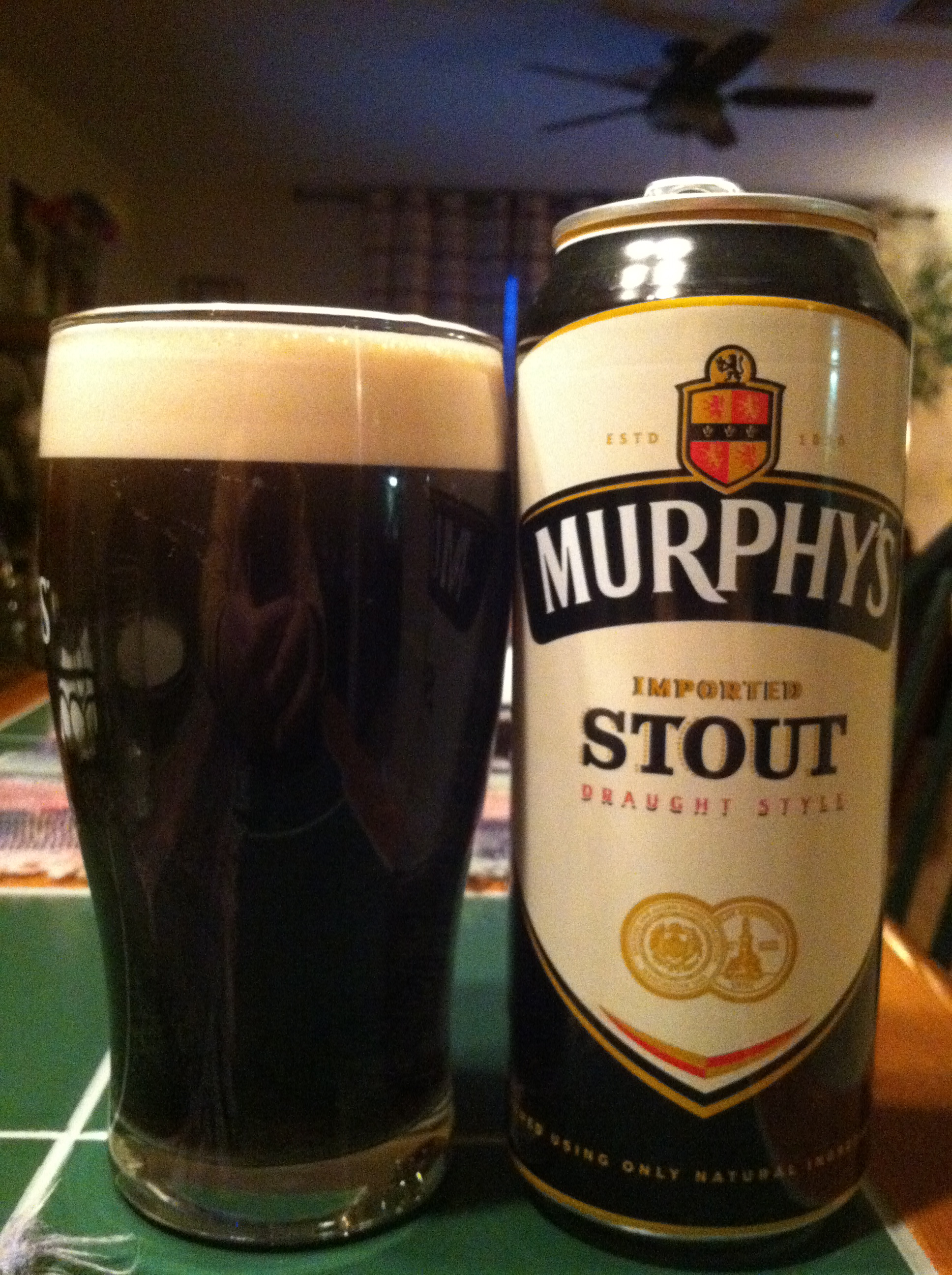 Murphy's Irish Stout.